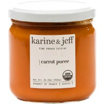 Organic Carrot Puree Vegan by Karine and Jeff (350gr - 12.3 oz)