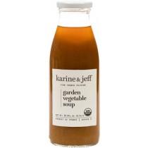 Organic Garden Vegetable Soup Vegan Karine & Jeff (0.5lt/16.9floz)