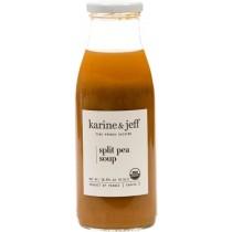 Organic Split Pea Soup Vegan by Karine and Jeff (0.5lt/16.9fl oz)