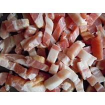 Diced Pancetta - Lardon de porc salés (2.1LB/1kg)