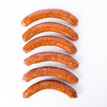 Merguez - Spicy Lamb Sausage Fabrique delices - 6 Link Pack (0.75 Lb) All natural