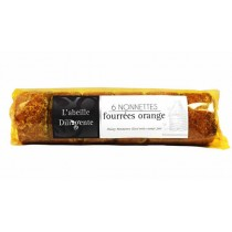 Honey Nonettes filled with orange jam Abeille Diligente 7oz (200g)