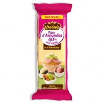 Almond paste Vahine 3 colors with 40% almond (5.3 oz/150g)
