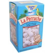 Sugar - La Perruche - Pure Cane Rough Cut White Sugar Cubes - (8.8 oz/250g)