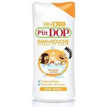 P'tit DOP Bain + Douche Hypoallergenique Peach - Apricot