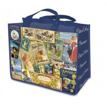French Cote d'Azur Patchwork Shopping bag