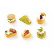 Savory Bites of vegetarian recipes 54 units