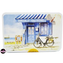 "Cookie Tin Box ""Bistrot du Port"""