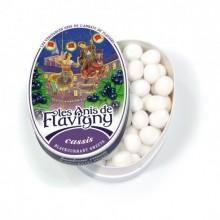 Les Anis de Flavigny - Oval tin Blackcurrant 50g
