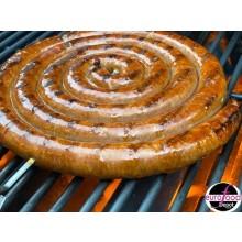 Merguez Coil Sausage - Spicy Lamb Sausage Fabrique Delices - (1.5 Lb) All natural