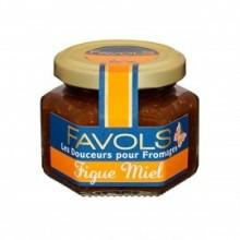 Fig & Honey Spread for goat milk Cheeses - Favols (3.88oz/110g)