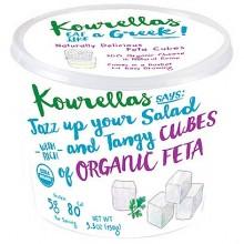 Sheep and Goat Milk Feta Cubes - Organic Feta