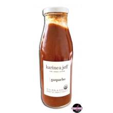 Organic Gazpacho Soup Vegan Karine et Jeff