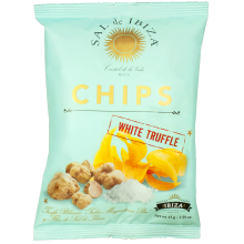 Sal de Ibiza chips with White Truffle
