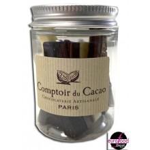 Eiffel tower chocolates mini jar - Comptoir du Cacao (1.05oz/30g)
