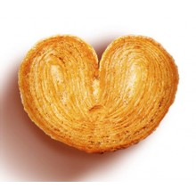 St Michel Caramel Palmier French Butter Cookies