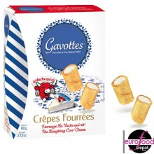 Gavottes Mini Crepes filled with the Laughing Cow Cheese